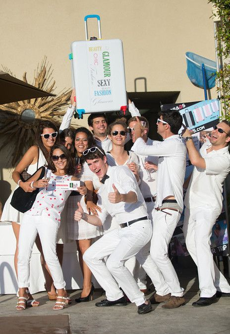 French Tuesday's 7th Annual White Party #party #travel #summer #luggage #design #ugobags #fashion #suitcase #destination #losangeles #california #beverlyhills #l'ermitage #style #whiteparty #fun #love #friends