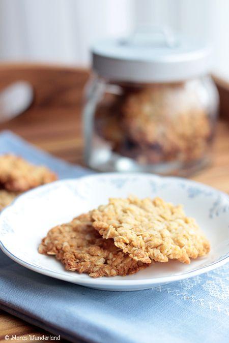 Haferflocken-Kokos-Cookies