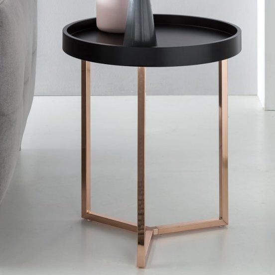 Noemi Bedside Table Square Side Table Metal Side Table Side