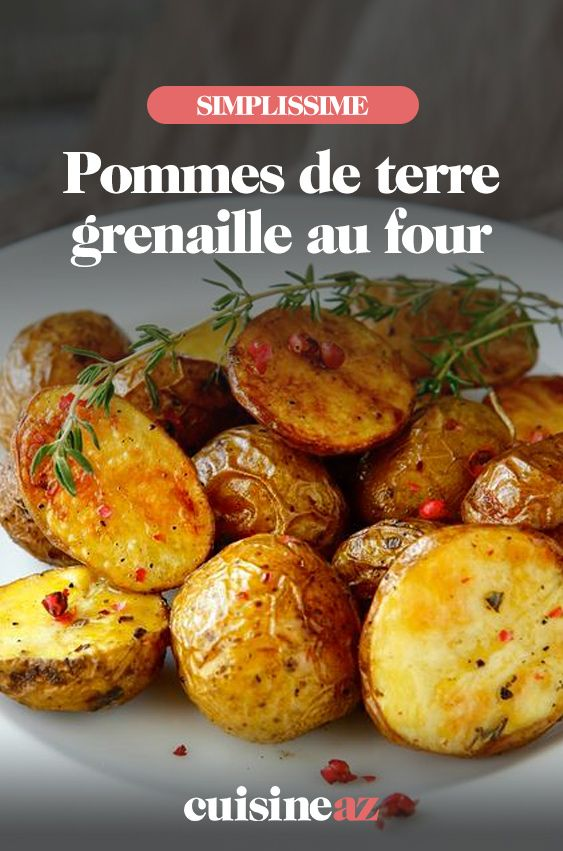 Recette Pommes de terre grenaille rôties au four | Potager