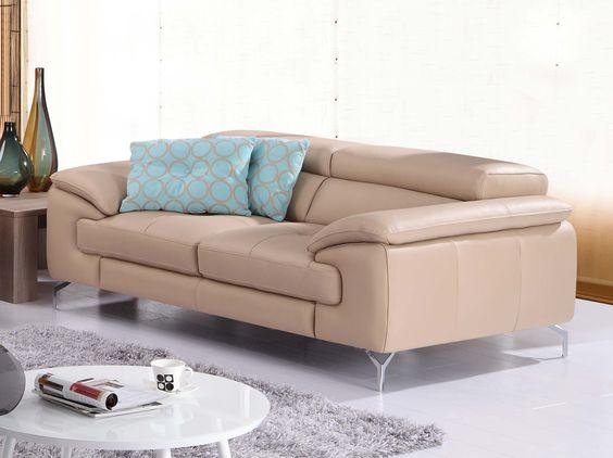 J&M A973 Sofa Peanut