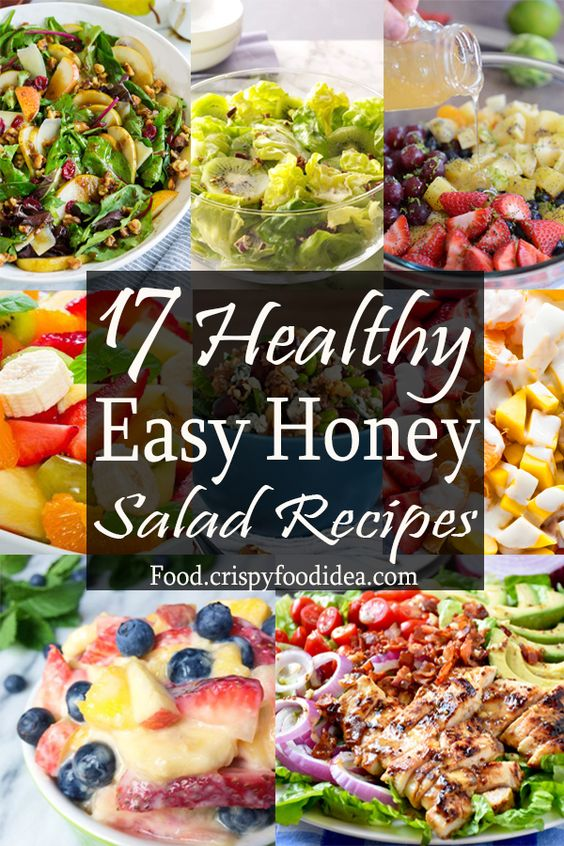 17 Healthy Easy Honey Salad Recipes