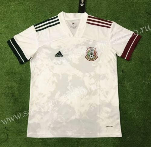 2020 2021 Mexico Away White Thailand Soccer Jersey Aaa Soccer Jersey Soccer Football Sweater