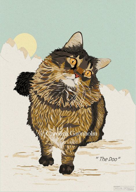 Custom Pet Portrait Made To Order Animal Art by latenightdrawing, $95.00