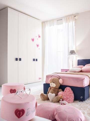 Composiciones para cuarto de ni a barbie like muebles de - Cama para ninas ...