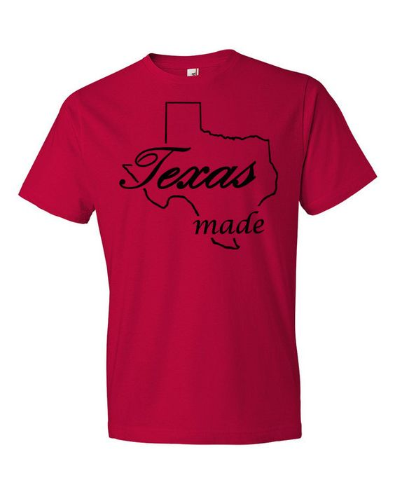 Texas made t-shirt