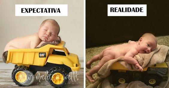 29 Fails Hilariantes De Sessões Fotográficas De Bebés!!