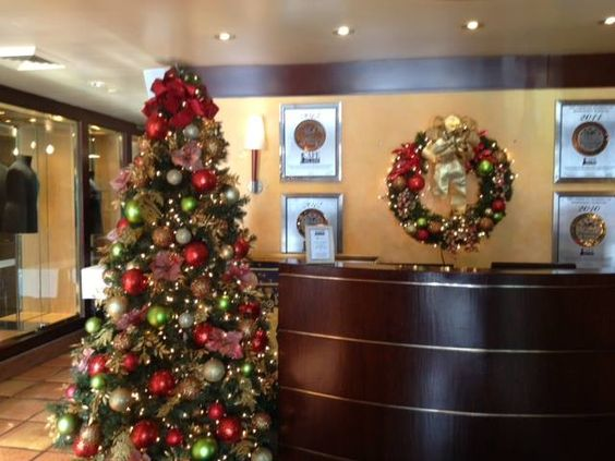 Decorating Ideas > Office Reception Area  Holiday Decorations  Pinterest  ~ 133353_Christmas Decorations For Office Reception Area