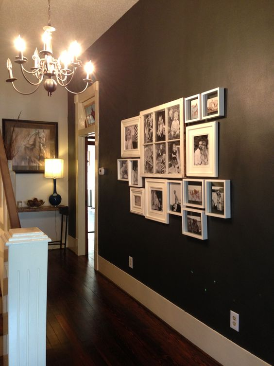 Black Accent Walls And Photos On Pinterest