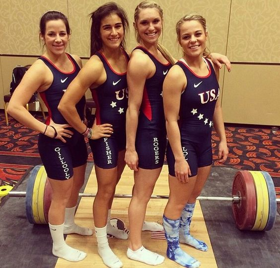 Lauren fisher usa women s olympic weight lifting team