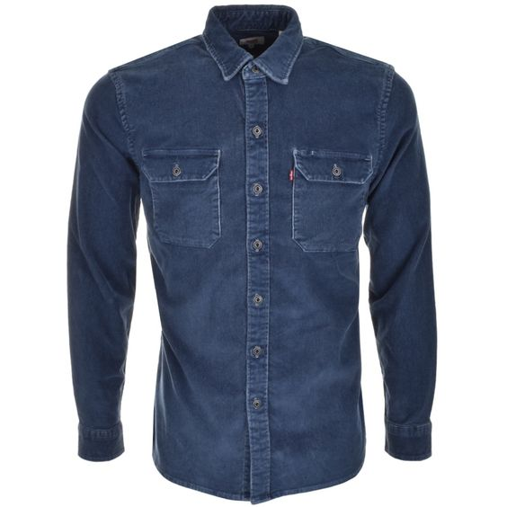 Levis Jackson Worker Shirt Blue | Mainline Menswear
