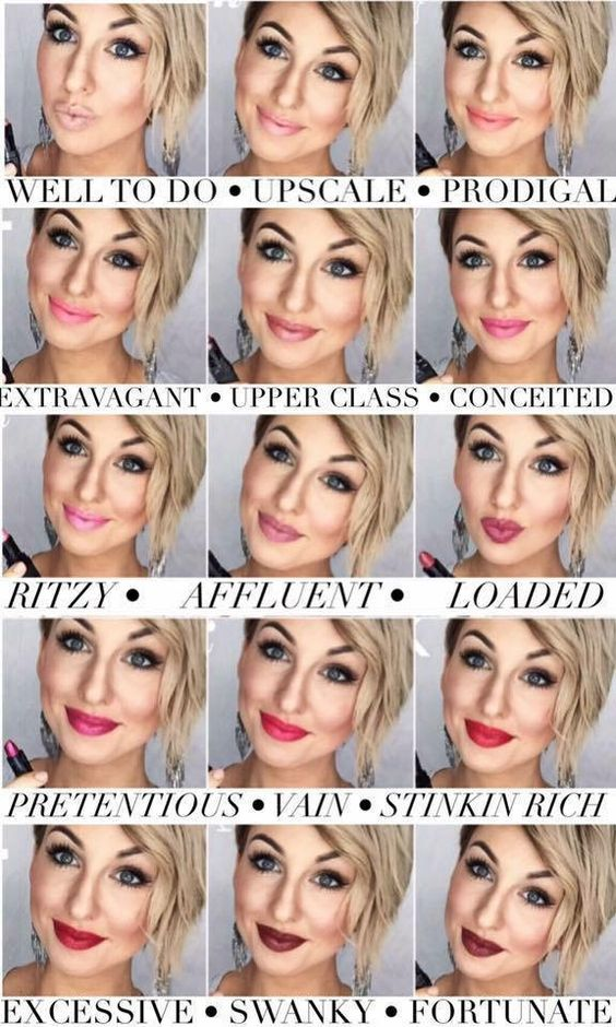 All younique lipstick shades www.youniqueproducts.com/AmberDorsey