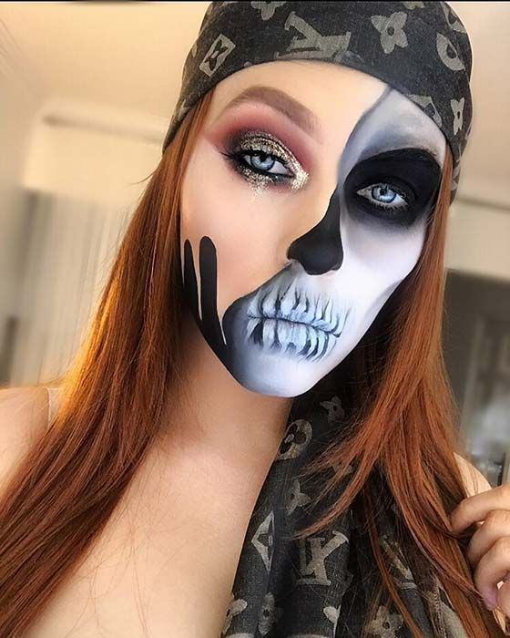 23 Halloween Makeup Looks To Try This Year Maquillaje De