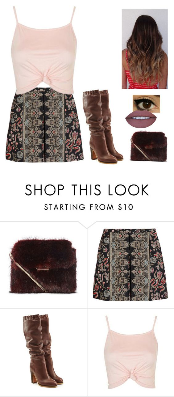 """""""Little dots"""" by well-its-jess ❤ liked on Polyvore featuring Valentino, See by Chloé and Topshop"""
