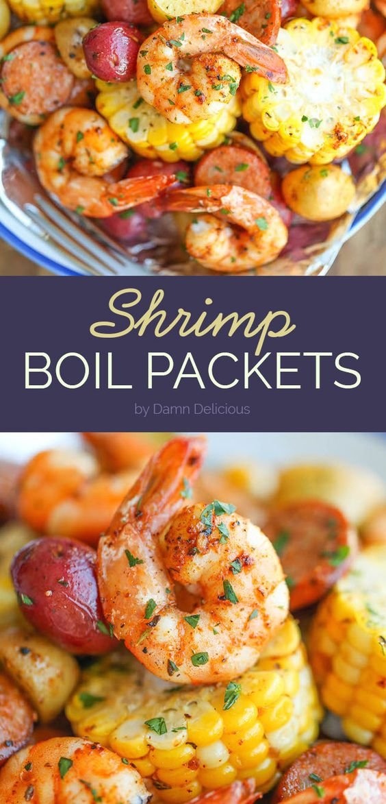 Shrimp Boil Packets | 7 Quick And Delicious Dinners To Make If You Have No Free Time
