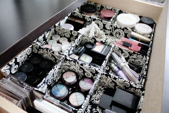 Organizador de maquiagem: Makeup Organization, Makeup Storage, Makeup Drawer, Storage Ideas, Beauty Blog