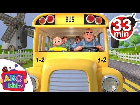 Wheels On The Bus More Nursery Rhymes Kids Songs Abckidtv