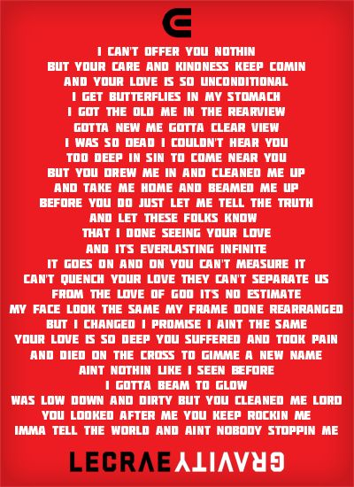 Tell The World- Lecrae aka my favorite Crae song :) | My ...