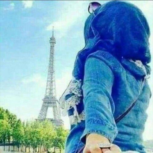 نتيجة بحث الصور عن محجبة عند برج ايفل Pictures Arab Swag Muslim Women