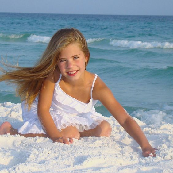 Destin, Florida-get white dresses for girls!