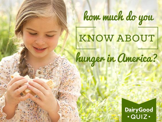 How much do you know about hunger in America? Take the quiz now.
