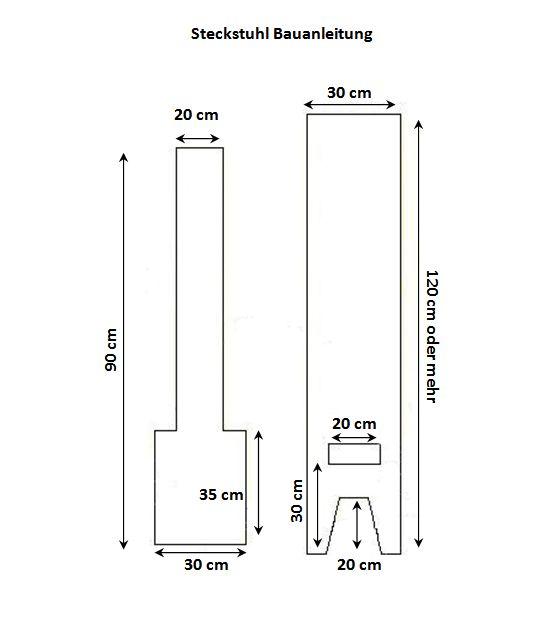steckstuhl anleitung steckstuhl pinterest blog und larp. Black Bedroom Furniture Sets. Home Design Ideas