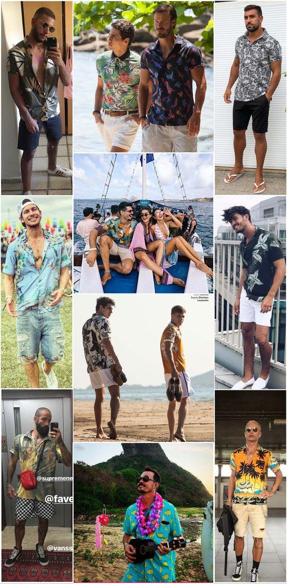 🌴Especial Resortwear: Como usar camisa estampada no verão