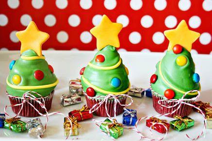 Christmas Tree Cupcake 2