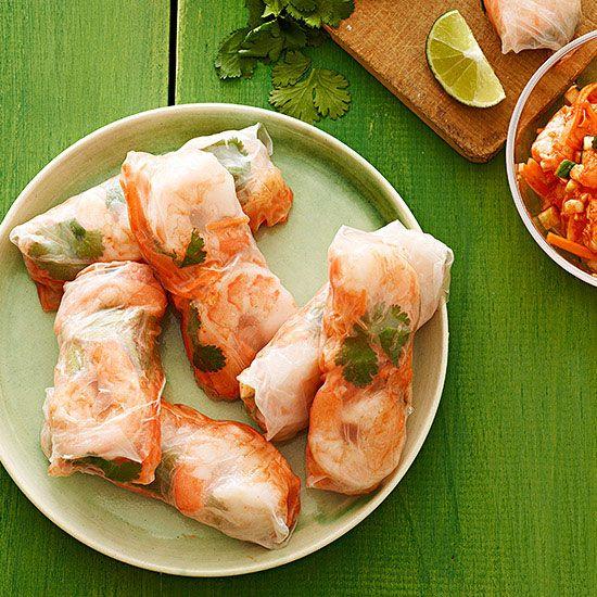 shrimp rolls the o jays felt shrimp put together fast recipes rice ...