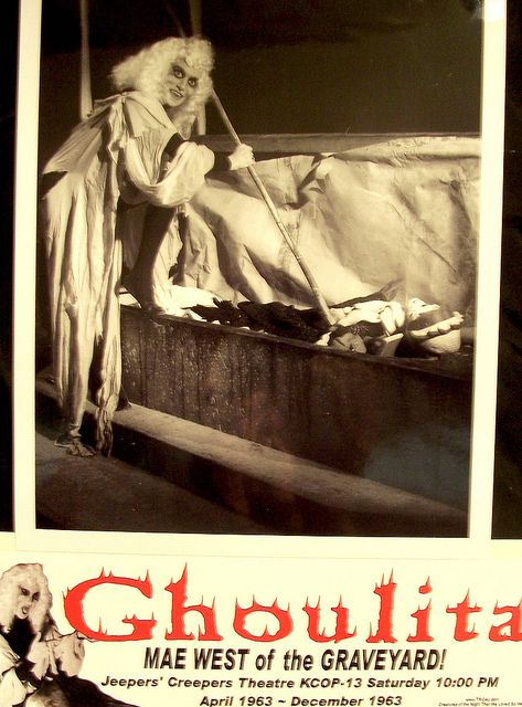 Horror Hostess Ghoulita (1963)  Mae West of The Graveyard!