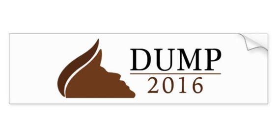 Dump Bumper Sticker