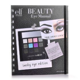 Terrific product. Eye shadow + instructions for making purdy smoky eyes