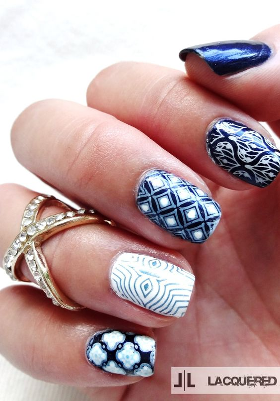 Moroccan Inspired Nails