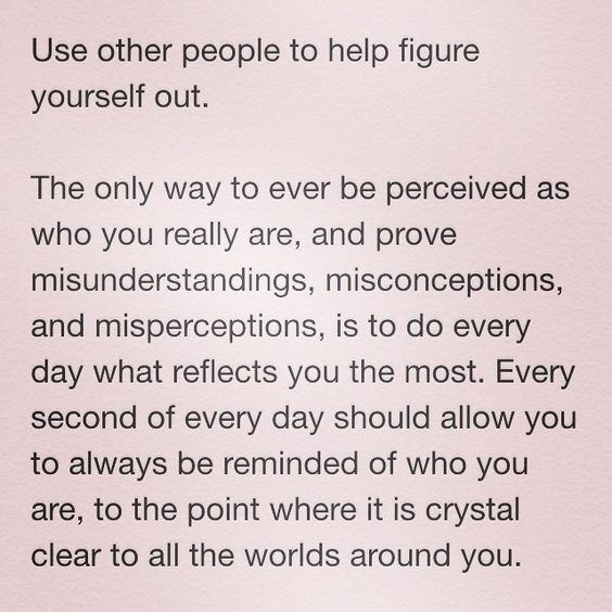 @thewellnessmodel on Instagram / Some will admit it & others will not. The moment we identify the feeling of being mistaken, completely misunderstood, & misperceived as something we are not -- followed by anger & questioning of our actions. If you know yourself well, it's hard to be forced to second guess all the moves you've already made & answer questions you have already answered. One question to ask yourself in that moment -- are you doing, acting, and being in the way that reflects you…