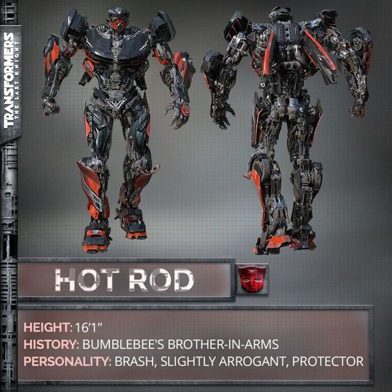 """Hot Rod to Appear in Transformers: The Last Knight  Transformers: The Last Knight has gained yet another Autobot as director Michael Bay has confirmed Hot Rod will appear in his upcoming film.  Bay shared the news in a post on Twitter providing a first look at the classic Autobot and saying """"Time to turn up the heat. Meet Hot Rod.""""   Hot Rod in Transformers: The Last Knight via Michael Bay's Twitter  Continue reading  https://www.youtube.com/user/ScottDogGaming @scottdoggaming"""