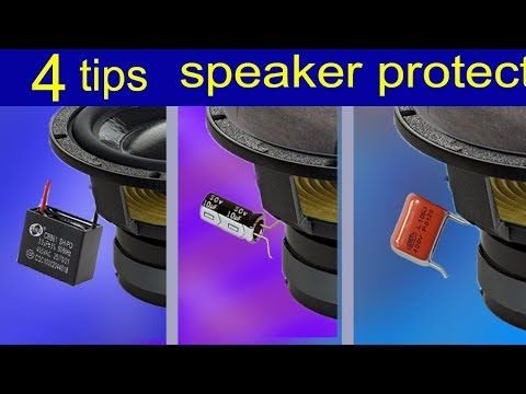 Connect Speakers To Amplifiers How To Boost Bass For Speakers And High Bass Youtube Speaker Audio Amplifier Speaker Amplifier