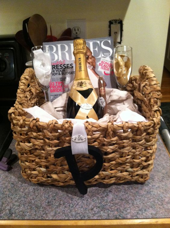 Wedding Planning Gift Basket : Engagement gift My projects Pinterest Engagement, Gifts and ...
