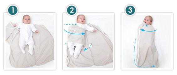 3 facili passi da seguire per avvolgere il tuo neonato in Joey Pouch®
