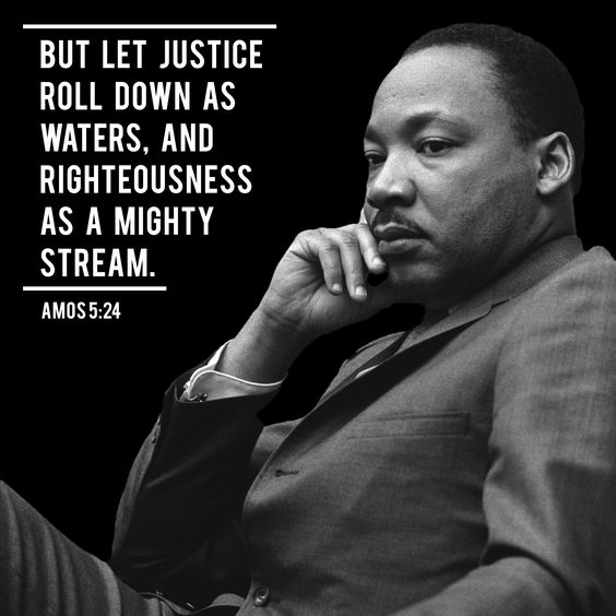 Image result for mlk quote justice like a river
