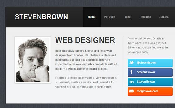 25 Beautifully Colorful Websites Colors in combination Pinterest - resume site