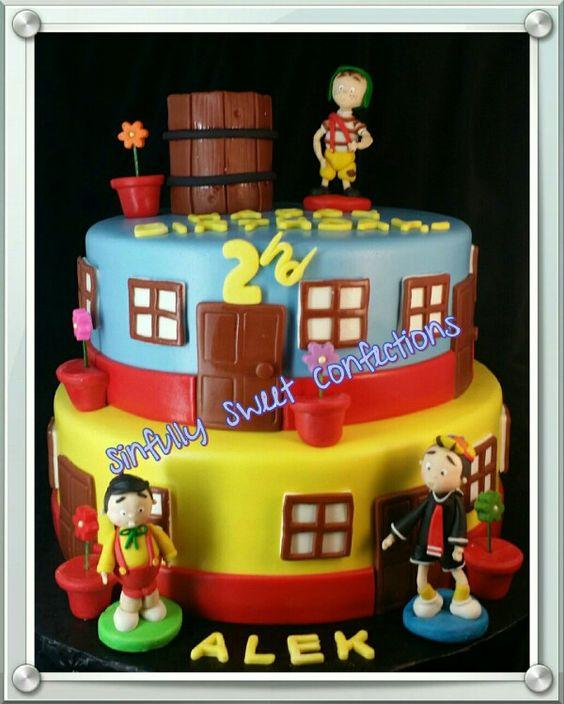 Chavo de Ocho Birthday Cake