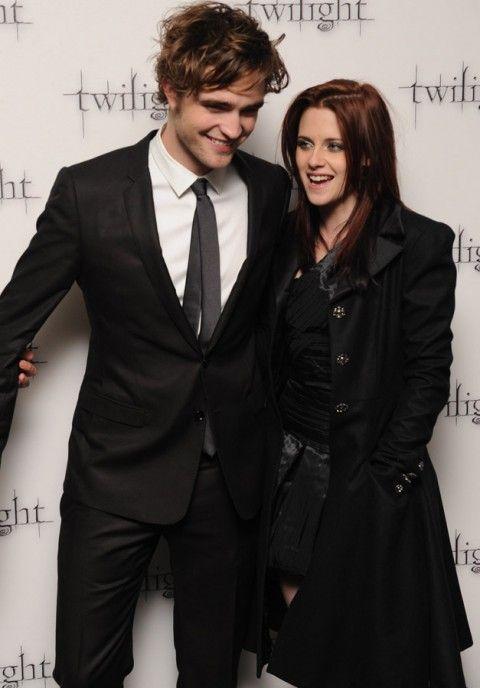 Robert Pattinson and Kristen Stewart - Robert Pattinson - Kristen Stewart - Rob Pattinson - Rob and Kristen - Twilight - Breaking Dawn - Celebrity - Marie Claire