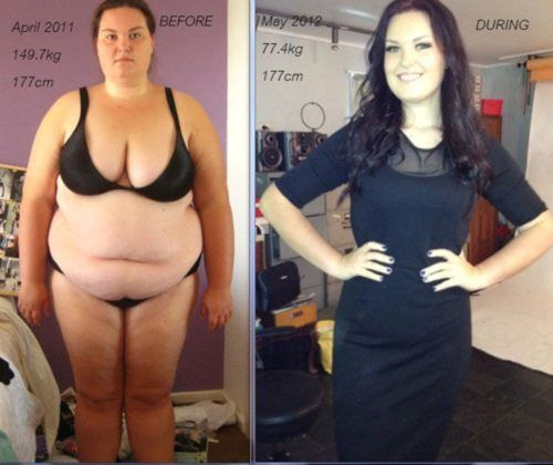 women before after losing weight 33 Women shedding the lbs. is more than a little impressive (35 Photos)