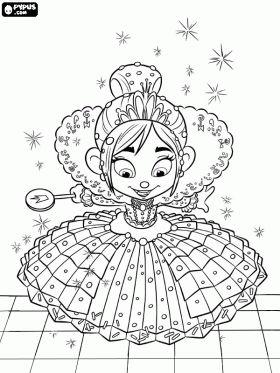vanellope von schweetz princess