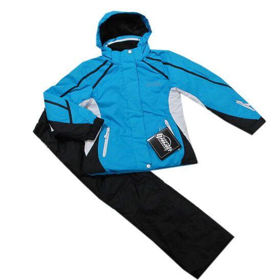 Central Project Jacke Skijacke Winterjacke Blau Mädchen Jungen Gr.116 140