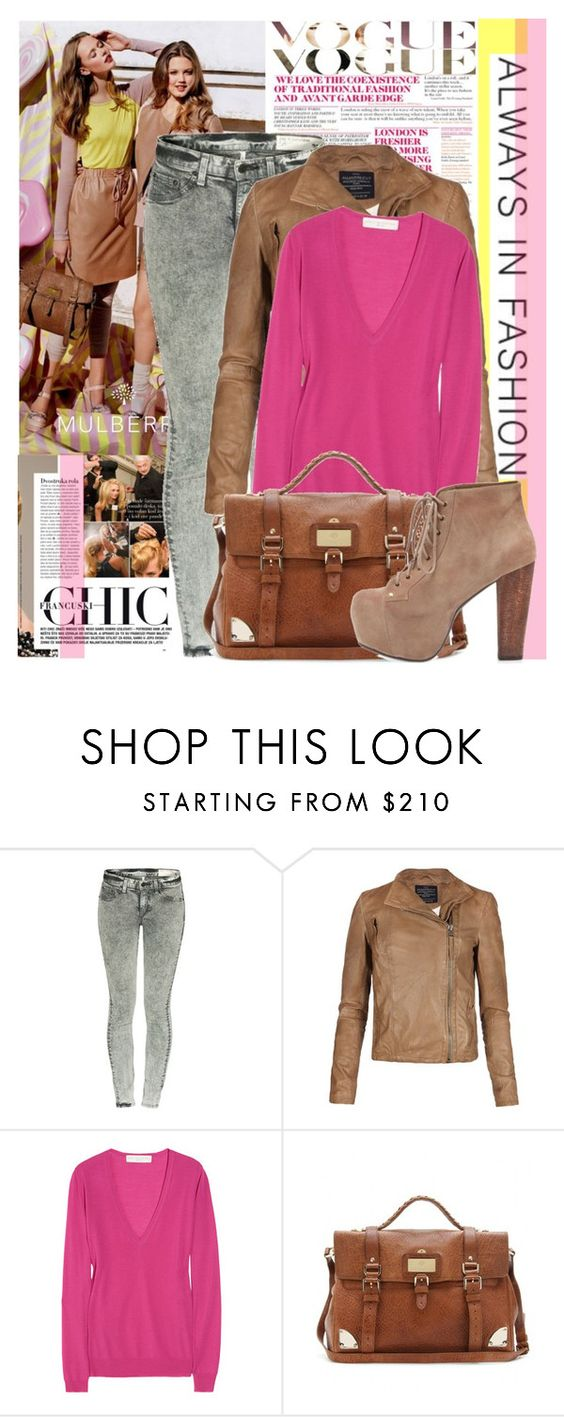 """""""Outfit #9"""" by never-alone ❤ liked on Polyvore featuring Mulberry, rag & bone, AllSaints, STELLA McCARTNEY and Jeffrey Campbell"""