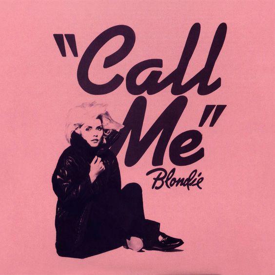 Blondie – Call Me (single cover art)