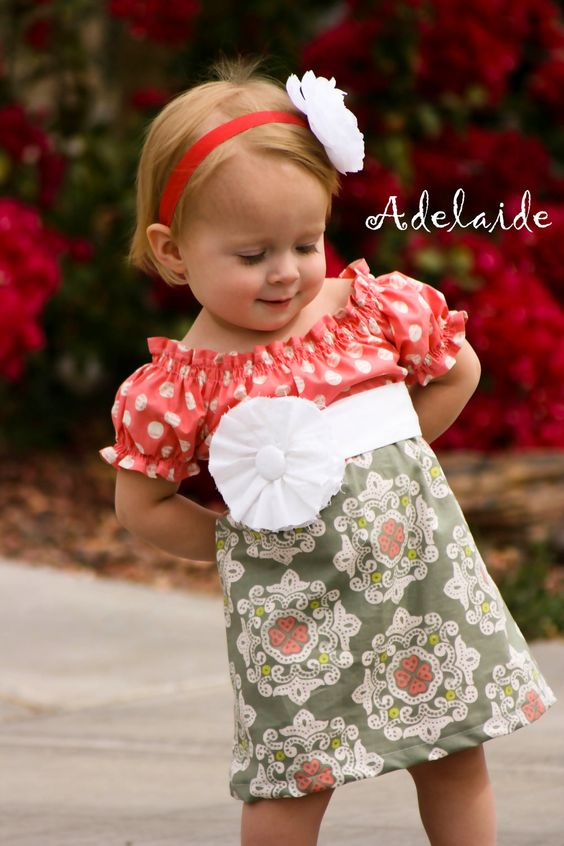 Jane in Pink Adelaide Original 6mo to 6yrs by AdelaidesBoutiqueLLC, $44.00
