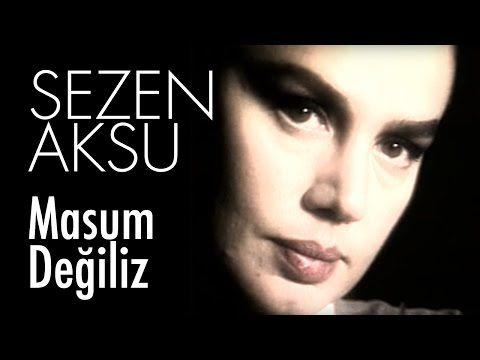 Sezen Aksu Masum Degiliz Official Video Youtube Music Book Turkish Pop Songwriting