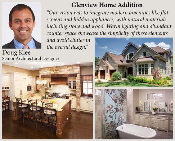 #DesignerSpotlight   Doug Klee   Senior Architectural Designer   Glenview Home  Addition Inspiration | Designer Spotlight | Pinterest | Earthy Kitchen, ...